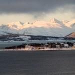 Tromsö Morgensonne (Jan.2013) (Morgensonne in Tromsö)