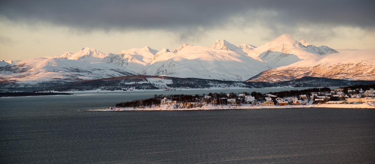 Tromsö Morgensonne (Jan.2013)