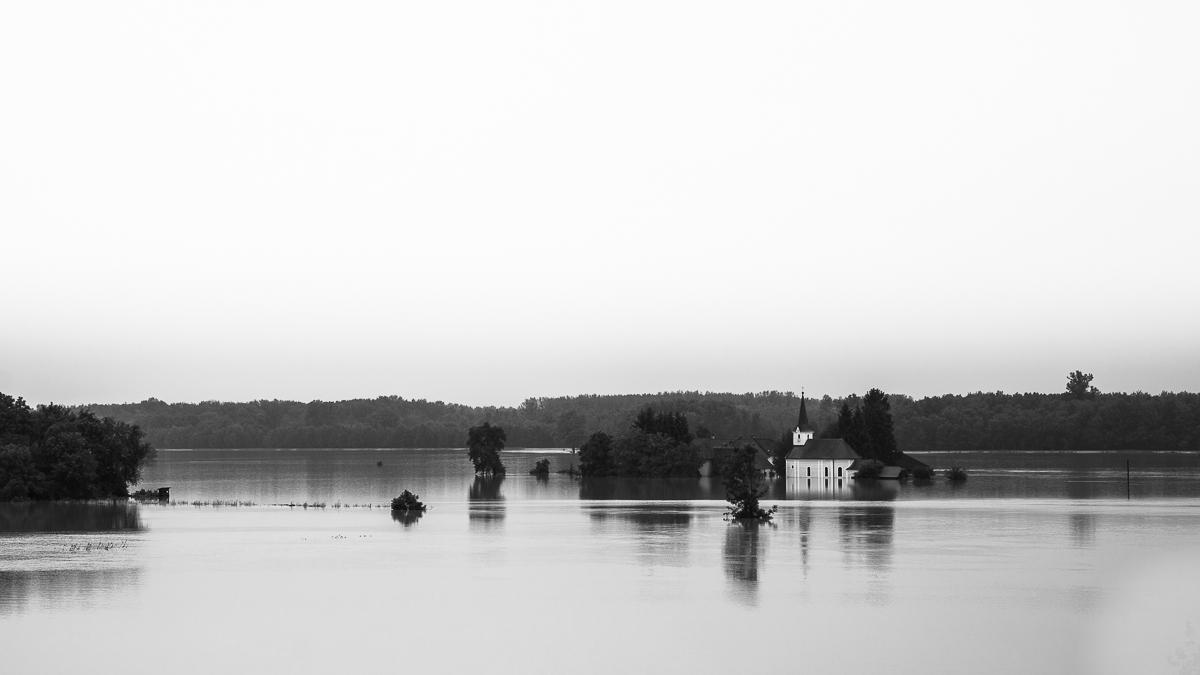 Hochwasser 2013, Wallsee